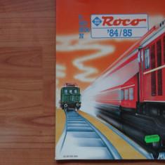 Revista Roco - Catalog Trenuri -Trenulete si machete - Anii 84-85