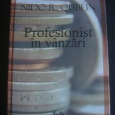 NIDO R. QUBEIN - PROFESIONIST IN VANZARI - Carte Marketing