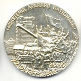 MEDALIE 22 DECEMBRIE 1989 ARGINTATA MINISTERUL APARARII NATIONALE VESNICA RECUNOSTINTA EROILOR CAZUTI SNR SECTIA NUMISMATICA CCA - Medalii Romania