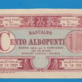 Bancnota Straine - Italia 100 lire 1951 1