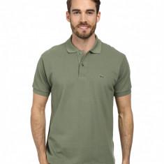 Tricou Lacoste Polo Army Green - Tricou barbati Lacoste, Marime: S, L, Culoare: Din imagine, Maneca scurta, Bumbac