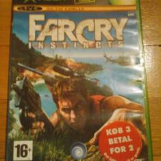 Jocuri Xbox Ubisoft, Shooting, 16+, Multiplayer - JOC XBOX clasic FAR CRY INSTINCTS ORIGINAL PAL / COMPATIBIL XBOX 360 / STOC REAL / by DARK WADDER