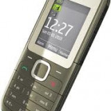 Telefon Nokia, Negru, Nu se aplica, Neblocat, Dual SIM, Fara procesor - Nokia C2 dual sim