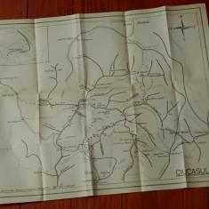 Harta Turistica - Muntii Ciucas ( Ciucasul )!!!