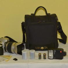 Vand aparat foto Nikon F60 + accesorii, PROAPE NOI - Aparat Foto cu Film Nikon, SLR, Digital