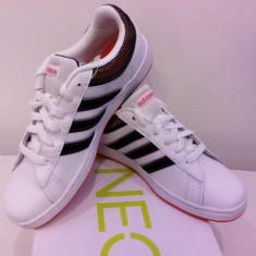 Adidas original piele marimea 35, 5-36. Livrare gratuita - Adidasi dama, Culoare: Alb, Piele naturala