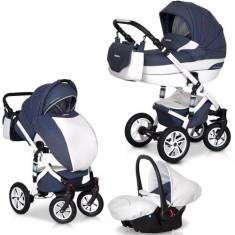 Carucior Durango 3 in 1 Denim - Carucior copii 2 in 1 Euro-cart
