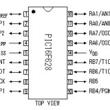 Circuit integrat Microchip PIC16F628 A, PIC16F628A