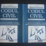 CODUL CIVIL - IN VIGOARE DE LA 1 OCTOMBRIE 2011 * 2 volume