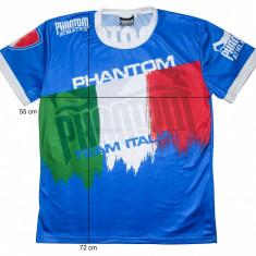 Tricou barbati, Maneca scurta, Poliester - Tricou sport lupte PHANTOM Athletics Italia, original (L) cod-172155