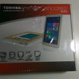Tableta Toshiba Encore 2 WINDOWS 8.1 32 GB (SSD) SIGILATA CU GARANTIE, 7.7 inch, Wi-Fi