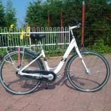 Bicicleta Giant Centro CS 2 - Bicicleta Dama Giant, 22 inch, 28 inch, Numar viteze: 3, Aluminiu, Alb