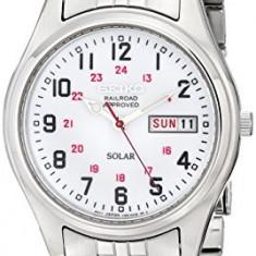 Seiko Men's SNE045 Solar White | 100% original, import SUA, 10 zile lucratoare a12107 - Ceas barbatesc Seiko, Quartz