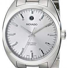 Movado Men's 0606360 Datron Stainless-Steel | 100% original, import SUA, 10 zile lucratoare a32207 - Ceas barbatesc Movado, Mecanic-Automatic