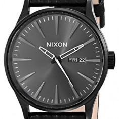 Nixon Men's A1051617 Sentry Leather   100% original, import SUA, 10 zile lucratoare a22207 - Ceas barbatesc Nixon, Quartz