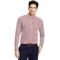 Camasa barbati Tommy Hilfiger, Maneca lunga - Camasa Tommy Hilfiger custom fit pinstripe shirt masura S M