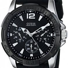 GUESS Men's U0366G1 Black Multi-Function   100% original, import SUA, 10 zile lucratoare a12107 - Ceas barbatesc Guess, Quartz