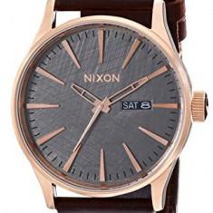 Nixon Men's A1052001 Sentry Leather   100% original, import SUA, 10 zile lucratoare a22207 - Ceas barbatesc Nixon, Quartz