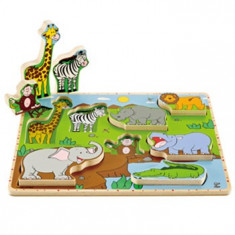 Hape Puzzle Animale salbatice