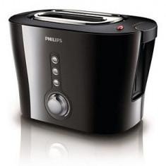 Prajitor de paine Philips HD2630/20, 1000W, negru - Toaster