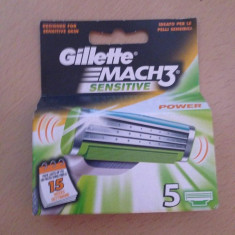 Gillette mac 3 sensitive