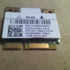 Placuta wifi Dell Inspiron 15 N4050/M4040/N5040/N5050/M5040 P18F001 dw1502