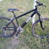Mountain Bike Nespecificat, 18 inch, 26 inch, Numar viteze: 21, Aluminiu, Negru - Bicicleta Merida MTB Cross/City