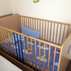 Vand pat bebe - Patut lemn pentru bebelusi, 140x70cm