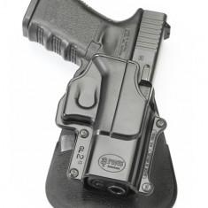 Arma Airsoft - Toc pistol Glock rotativ GL-2 Fobus