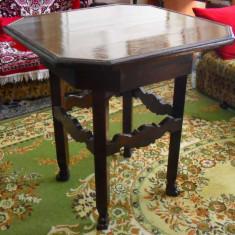 Masa in stil rustic din lemn masiv - Mobilier, Mese si seturi de masa