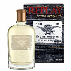 Replay Jeans Original! For Him EDT 50 ml pentru barbati - Parfum barbati