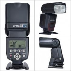 Blitz Yongnuo YN-560 IV YN560IV Flash Speedlite pentru Nikon, Canon, etc. - Blitz slave Yongnuo, Aparat foto digital