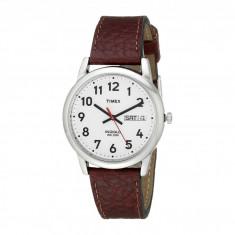 Ceas Timex Easy Reader Brown Leather Watch #T20041 | 100% original, import SUA, 10 zile lucratoare - Ceas barbatesc