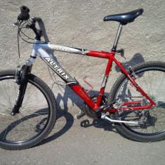 Bicicleta MTB Altrix Mistral - Mountain Bike Nespecificat, 18 inch, 26 inch, Numar viteze: 21, Aluminiu, Gri-Rosu