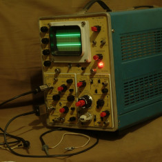 Osciloscop industrial modular EMG 1555 tr-4653 2x100mhz,baza timp dubla cu delay