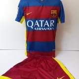 Echipamente sportive copii FC.Barcelona Messi compleu fotbal model nou 2016