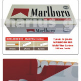 1.000 tuburi Marlboro RED - Multiflitru Carbon / pentru umplut tigari cu tutun