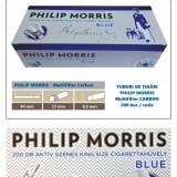 1.000 tuburi PHILIP Morris - Multiflitru Carbon / pentru umplut tigari cu tutun