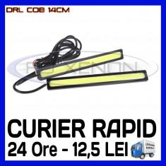 Lumini de zi ZDM DRL DAYTIME RUNNING LIGHT - COB 4W - 140mm - LUMINA ALB RECE, Universal