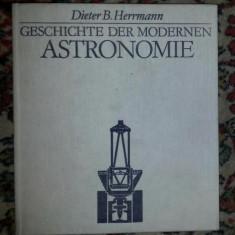 Dieter B. HERRMANN GESCHICHTE DER MODERNE ASTRONOMIE - Carte Astronomie