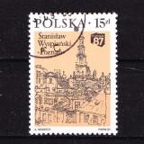 Timbre POLONIA 1987 = EXPOZ. NAT. FILATELIE POZNAN - Timbre straine