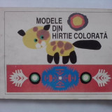 Modele din hartie colorata - carte educativa / R5P1F