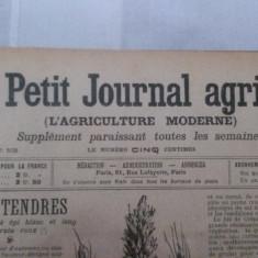 Jurnalul LE PETIT JOURNAL AGRICOLE din anul 1905 (toate aparitiile - 52) - in limba franceza - Revista vintage