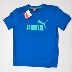 Tricou Puma pentru copii, Marime: L, Culoare: Albastru