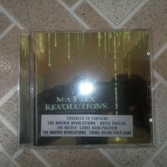 Vand cd original MATRIX REVOLUTION MUSIC FROM THE MOTION PICTURE - Muzica soundtrack warner