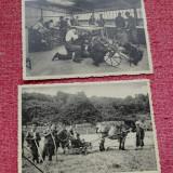 carte postala - fotografie ----  2 bucati - Ecole d'Agriculture de lÉtat   !!!