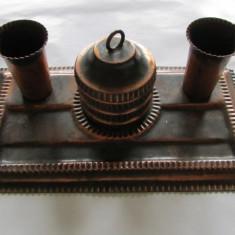 SET BIROU-metal cuprat, vintage