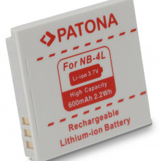 Baterie Aparat foto - 1 PATONA | Acumulator compatibil Canon NB-4L NB-4LH NB 4L 4LH NB4L NB4LH