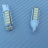 Led auto, Universal - Bec pozitie 68 led SMD lumina alba pret/set.