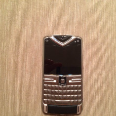 Telefon mobil Vertu, Argintiu, Neblocat, Nu se aplica, Fara camera, Tastatura qwerty - Vertu Constellation Quest